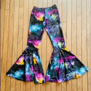 Piedmont Boutique of SF Flared Galaxy Leggings